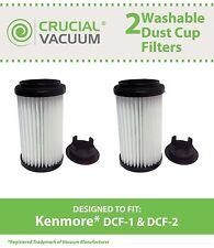 2 Washable Kenmore Vacuum DCF-1/DCF-2 Filters 82720 82912 02082720000 DCF1 DCF2