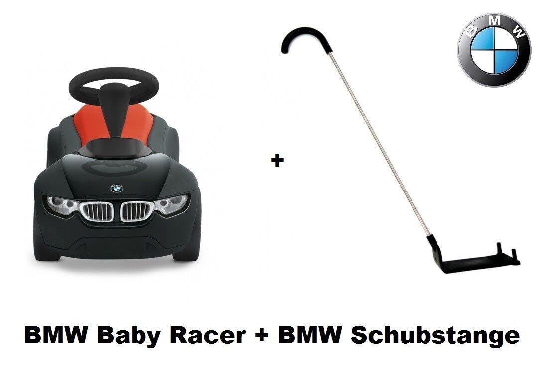 Original BMW Baby Racer III schwarz Orange Boby Car 80932413782 + 80932410943