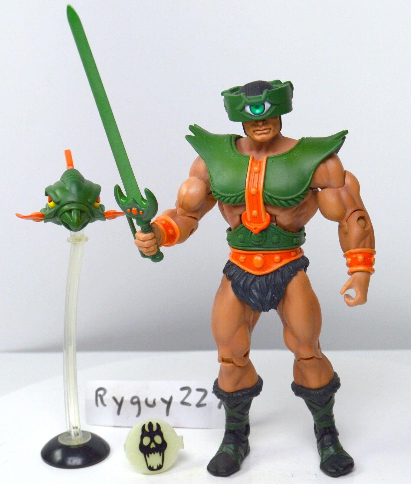 MOTUC, Tri-Klops, figure, complete, Masters of the Universe Classics, He-Man