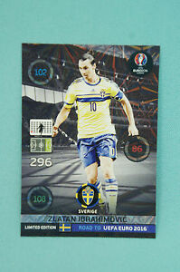 Panini-Adrenalyn-XL-Road-to-Uefa-Euro-2016-Zlatan-Ibrahimovic-Limited-Edition