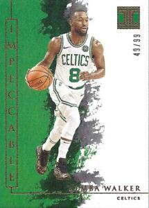 2019-20 Panini Impeccable Basketball Card Pick