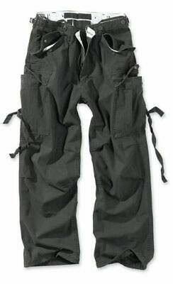 Surplus Military M65 Vintage Cargo Trousers Combat Workwear Olive