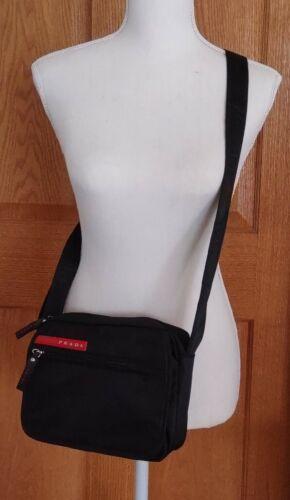 Vintage PRADA Sport Black Nylon Multiple Pockets S
