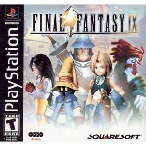 Final-Fantasy-IX-9-PlayStation-1-PS1-Game-Complete-CLEAN-VG
