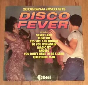 Various-Disco-Fever-Vinyl-LP-Compilation-33rpm-1977-K-Tel-NE-1014
