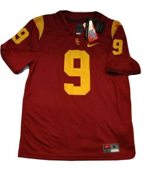 Nike USC Trojans #9 Authentic Football Jersey Sz Medium