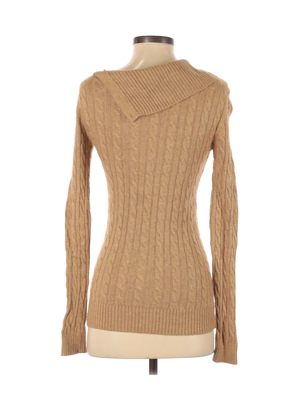Tommy Hilfiger Women Brown Pullover Sweater XS - image 2