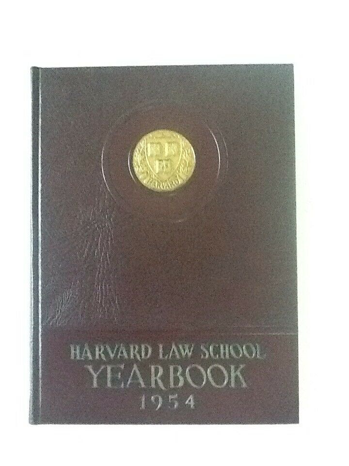 1954 Harvard Law School, Harvard U Cambridge MA Yearbook 6