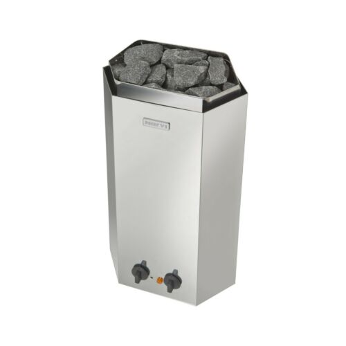 1 x 20kg Stones Narvi Minex Electric Sauna Heater Stainless 3kw NEW