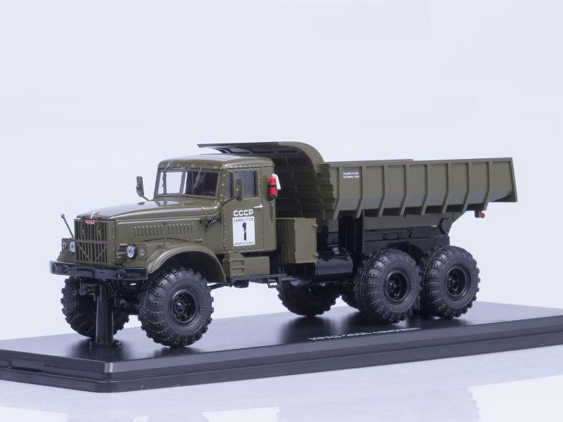 ordenar ahora Modelo de de de escala camión 1 43 KrAZ - 255B 6x6 camión, (Caqui)  más descuento