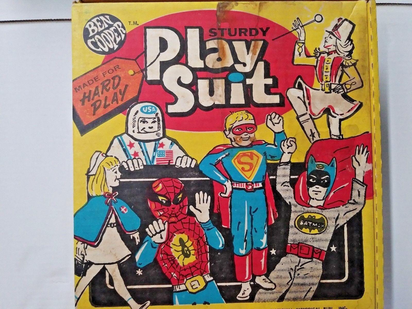 Ben Cooper Play Suit , Darth Vader, size 6-12 (1972)