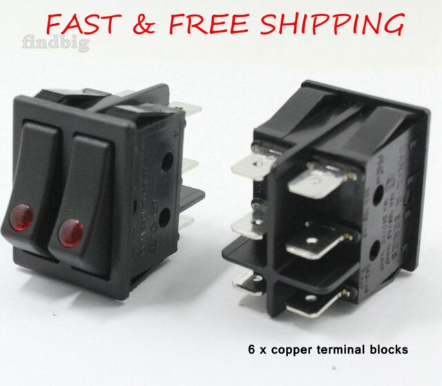 C R Series Electric Space Heater Rocker Switch Lakewood Delonghi 16A Oil Heater Rocker Switch Wiring Diagrams on