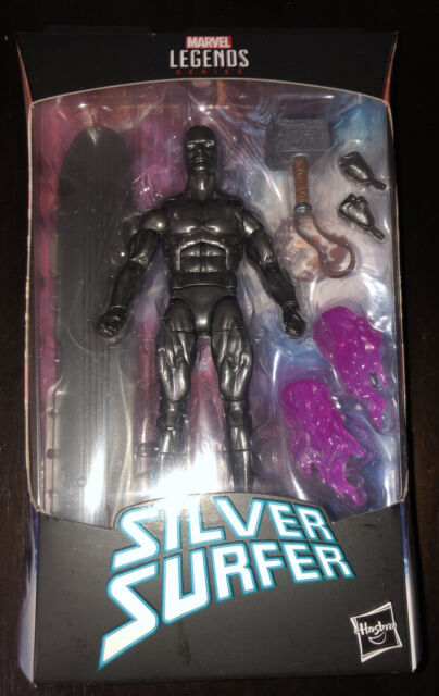Hasbro Marvel Legends Series - Silver Surfer with Mjolnir 6in.  Action Figure