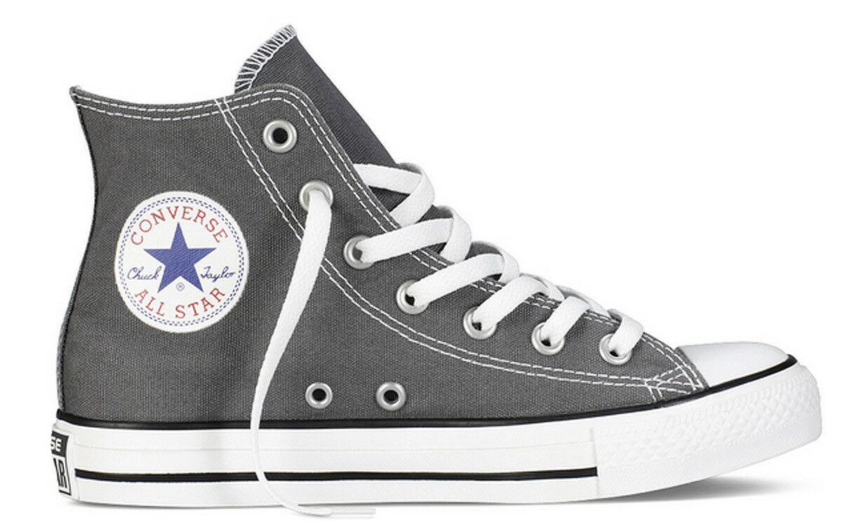 Converse Anthracite All Star Hi Femme Anthracite Converse Toile Baskets Taille 0597de