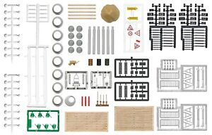 Busch-1044-Ho-Kit-034-Strasensanierung-034-New-Original-Packaging