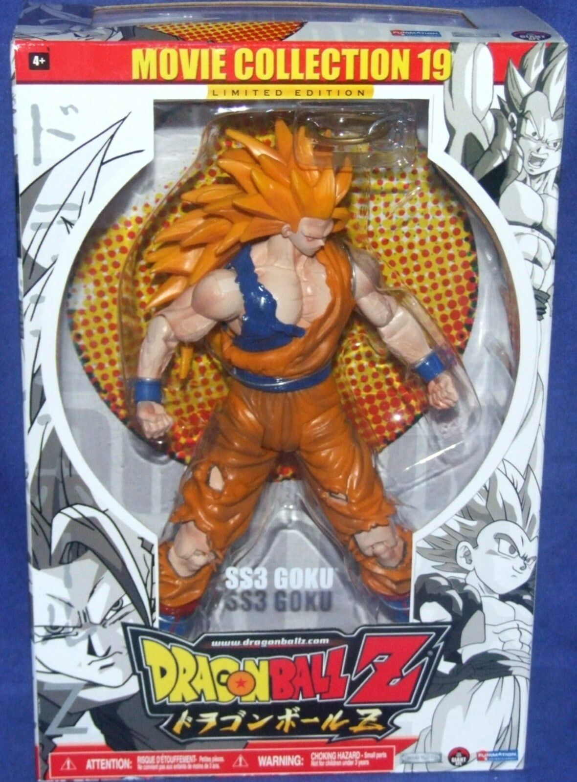 DRAGONBALL Z Movie Collection 19 Limited Edition SS3 Goku New Factory Sealed