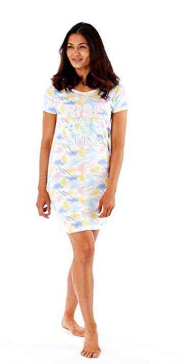 DéSintéRessé Selena Secrets Femme T-shirt Femme Endormie Tee Rise & Shine Imprimé Pyjama Top Petit Profit