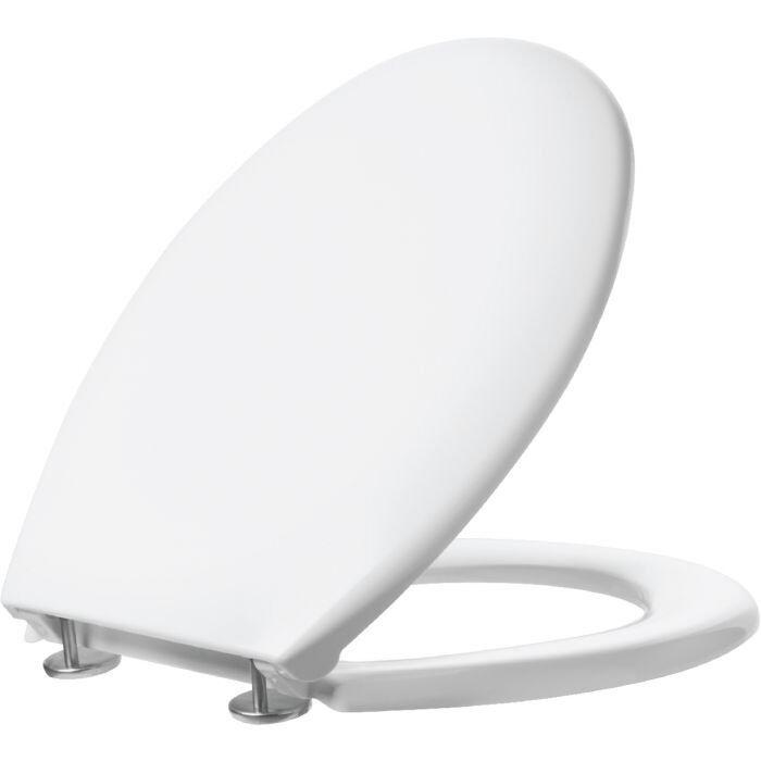 Accessoire WC , ABATTANT TERRA 400 , Déclipsable Pour un Nettoyage Parfait
