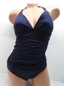 2050ea213cc Women's Bleu Rod Beattie Knotty But Nice Halter Mio One-Piece Navy ...