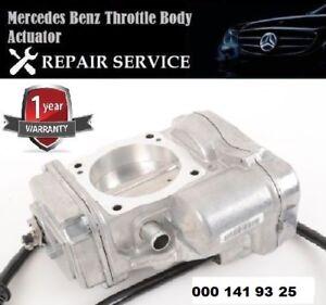 image is loading mercedes-benz-throttlebody-actuator-repairing-service- rebuilding-000-