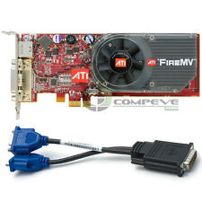 ATI FireMV 2250 Multi-view PCI-E x1 256MB Low Profile Graphics Card 102B1520100
