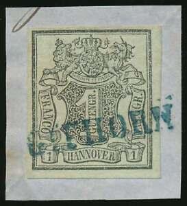 Hannover-Nr-2-gestempelt-Briefstueck-mit-blauem-L1-GIFHORN-68261