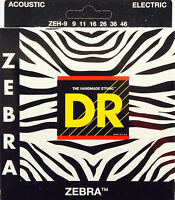 Dr Zebra Acoustic-electric Guitar Strings Zeh-9 Lite-n-hvy 9-46