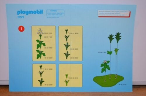 7940 playmobil bouwplan krokodillen alligators 3229