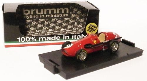 Brumm R044 FERRARI 500F2 1953-une Ascari champion du monde, échelle 1 43,