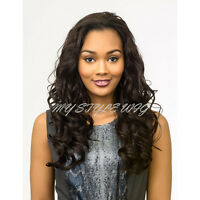 Bohemian Half Wig Pure Natural Synthetic Half Wig - Hfw Natasha By Diana