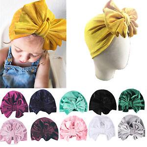 Baby-Girl-Kids-Bunny-Rabbit-Bow-Knot-Elastic-Turban-Headband-Hair-Band-Head-Wrap