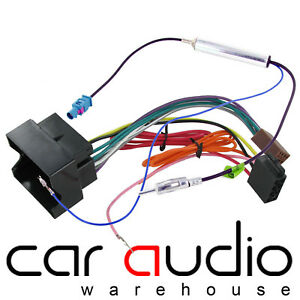 Details about SEAT Leon 2005 On Car Stereo Radio ISO Wiring Harness on