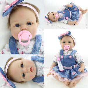Vinyl Silicone Reborn Doll Real Life Like Looking 22inch Newborn Baby Dolls Uk Ebay