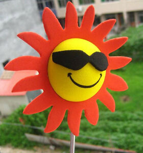 Sunflower with Sunglasses Antenna Topper Ball NIP