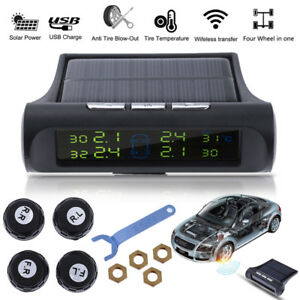 solar wireless auto tpms reifendruck kontrollsystem. Black Bedroom Furniture Sets. Home Design Ideas