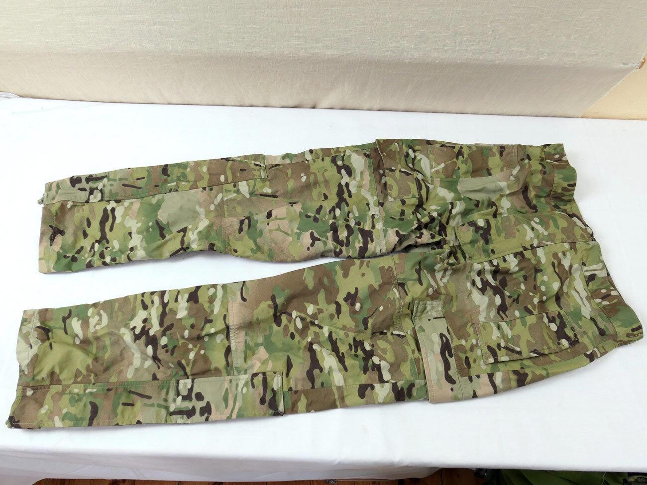 881 Gr. S Dänemark Gore-Tex TRILAMINAT Trousers Multicam Regen Hose MTP 2013