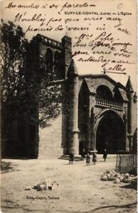 CPA-Sury-le-Comtal-L-039-Eglise-663998