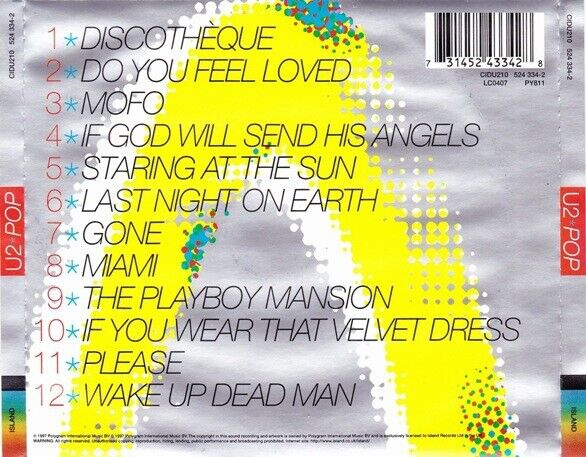 U2: POP, rock