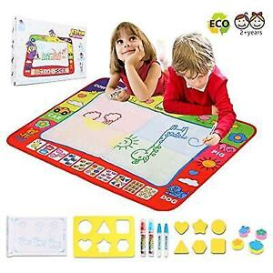 Doodle Drawing Mat For Kids Toys Large Aqua Magic Mats Mess Coloring