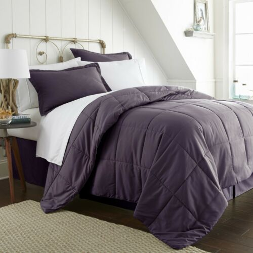 Ultra Soft Entire 8 Piece Bed in a Bag by The Home Collection Hypoallergenic