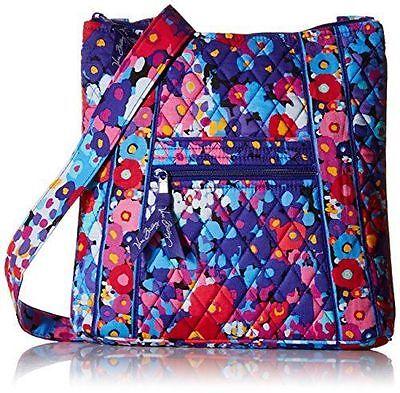 VERA BRALEY Hipster IMPRESSIONISTA  Crossbody Bag Purse Shoulder Tote $60 NEW!