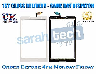 """Nuovo Lenovo Tab A8-50 A8-50f A8-50lc Lte 8"""" Tablet Touch Screen Digitizer Bianco-"""