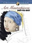 Creative Haven Art Masterpieces Dot-to-Dot by Peter Donahue (Paperback, 2016)