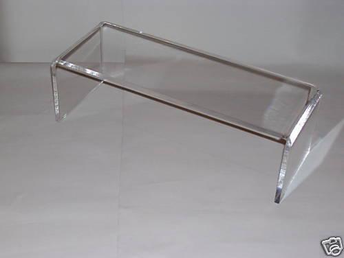 Clear Acrylic Shelf Riser For Ikea Detolf Cabinet For Sale Online Ebay