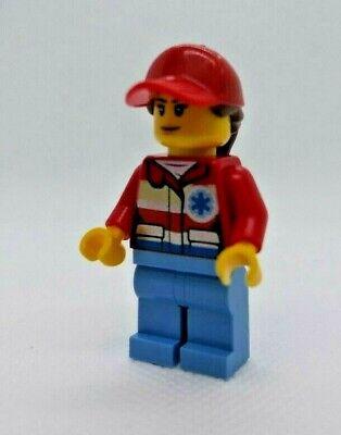 Ambulance Minifigure from set 60204 City Hospital NEW Lego Female Paramedic