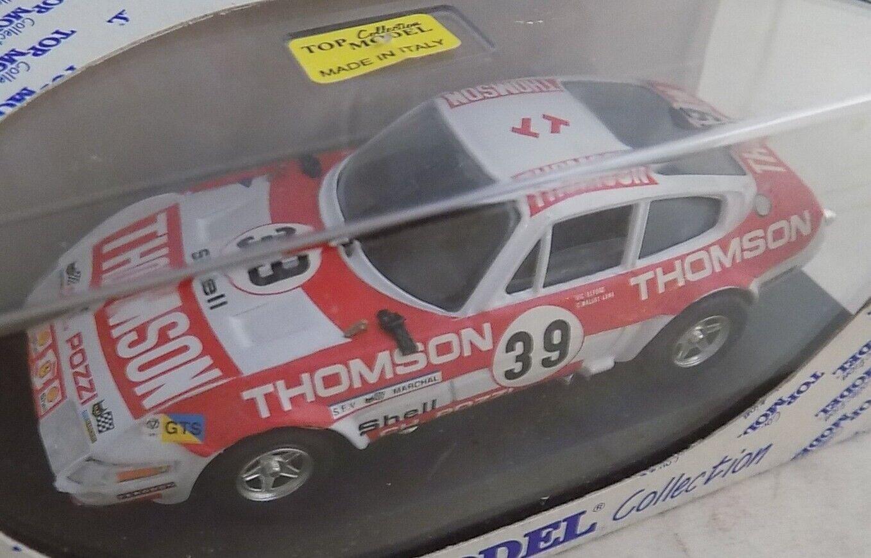 Top Model 1 43 Scale Resin TMC013 Ferrari 365 GTB4 Daytona Le Mans LM 1973  39