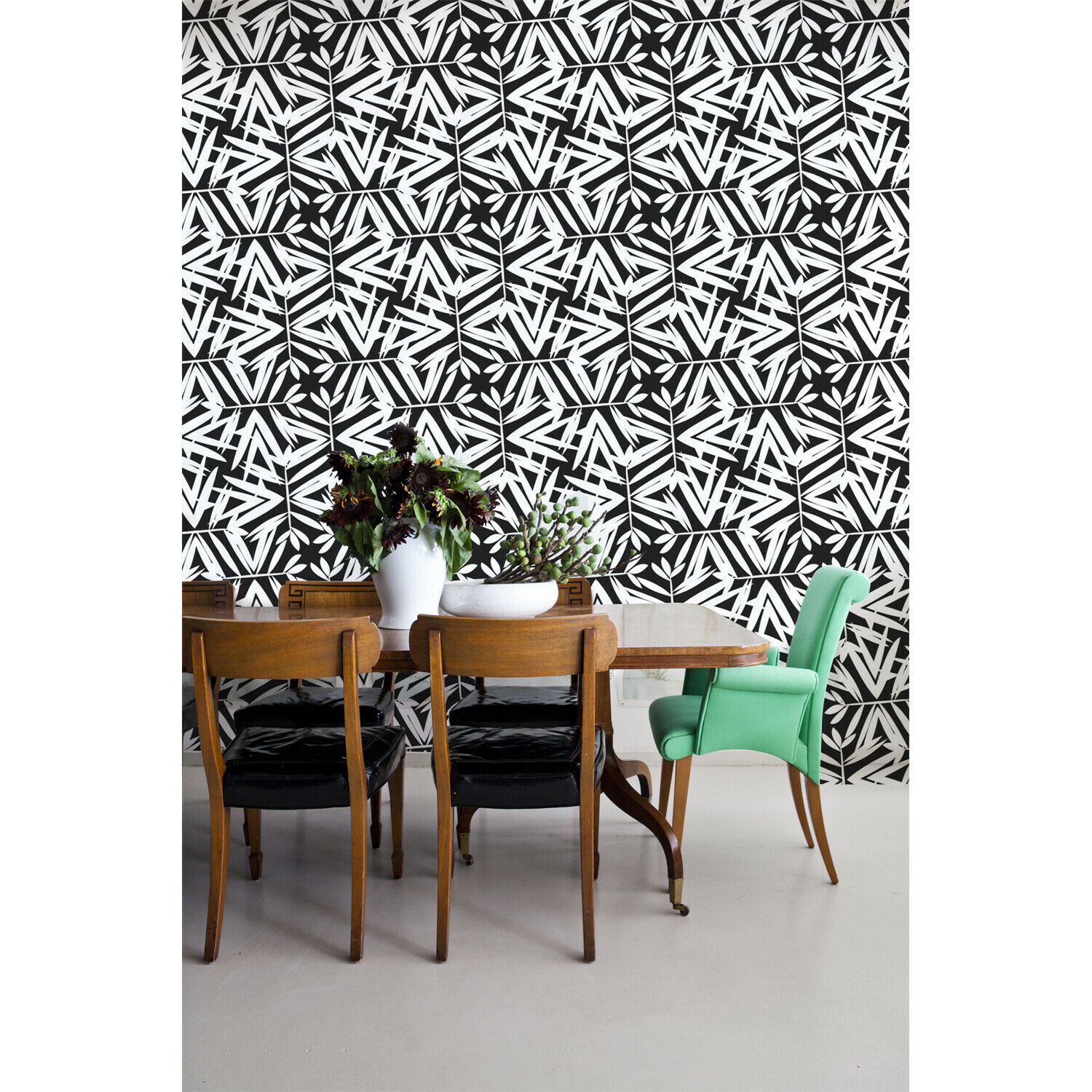 Pattern Home decor Simple wall mural Geometric Non-Woven wallpaper traditional