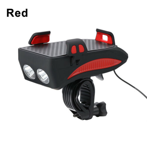 Bicycle Light USB Rechargeable LED Cycling Bike Headlight Cycling Accessories UK