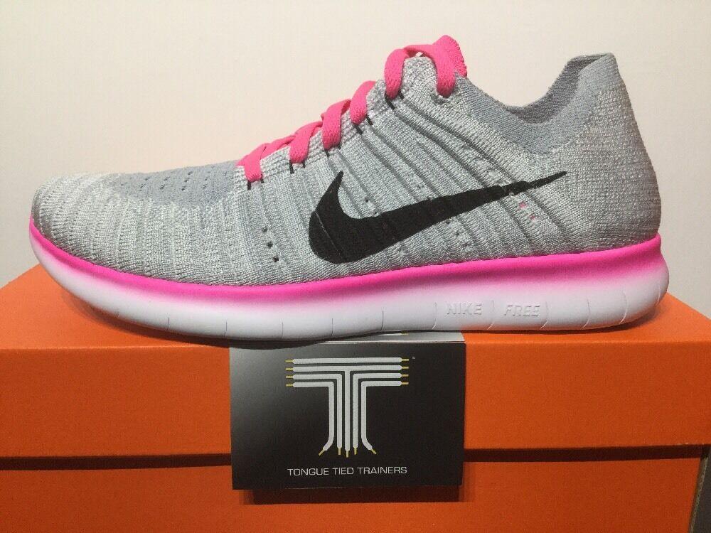 Nike free rn flyknit (gs) (gs) (gs) ~ 834363 106 ~ youths taille | Excellent (dans) La Qualité  | De Qualité Constante  | Sale  9ef2b3