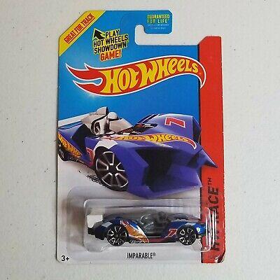 Hot Wheels 2014 #149//250 IMPARABLE HW RACE Blue